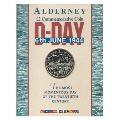 1994 £2 Commemorative Coin - D-Day