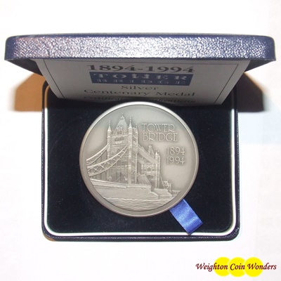 Royal Mint Silver Medallions