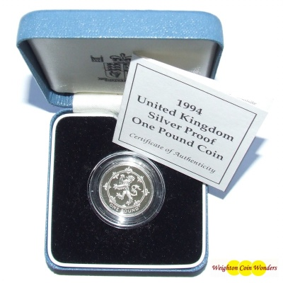 1994 Silver Proof £1