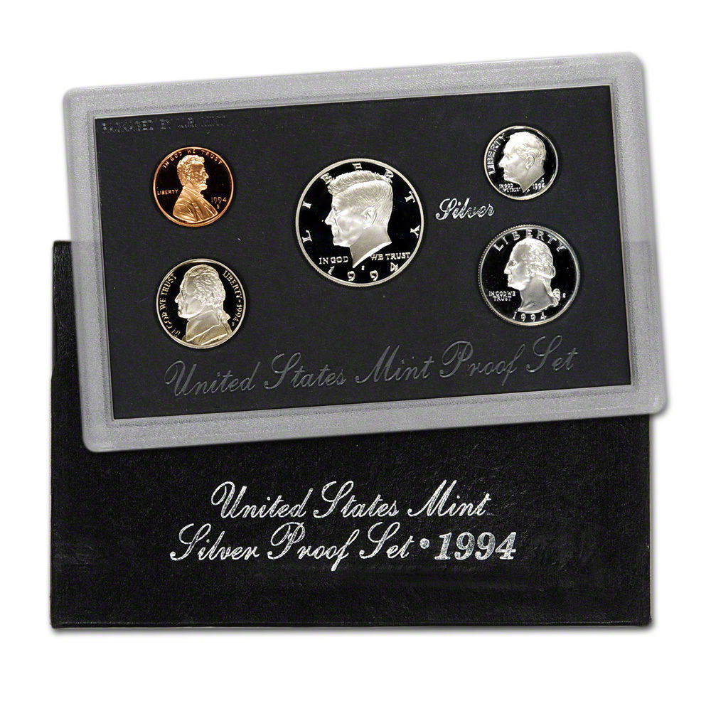 1994 United States Silver Proof Set