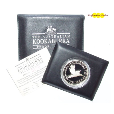 1995 1oz Kookaburra - Proof Issue