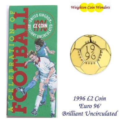 1996 £2 BU Coin Pack - A Celebration of Football
