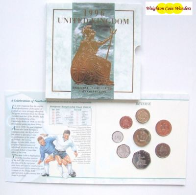 1996 Brilliant Uncirculated Coin Set