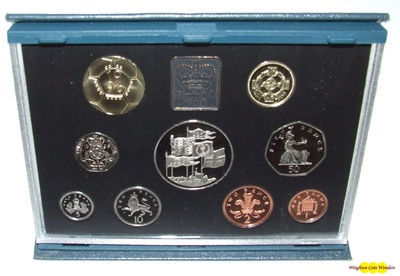 1996 Royal Mint Standard Proof Set