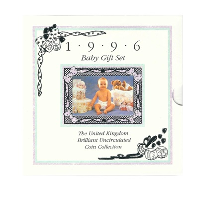 1996 Baby Gift Set - BU Coin Collection