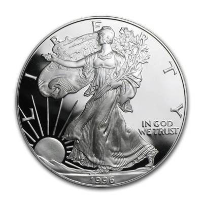1996 USA 1oz Silver Proof EAGLE