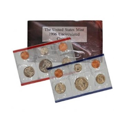 1996 United States Mint Uncirculated Coin Set (P & D)