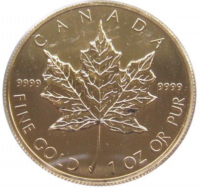 2009 1oz Gold Maple - Canada $50