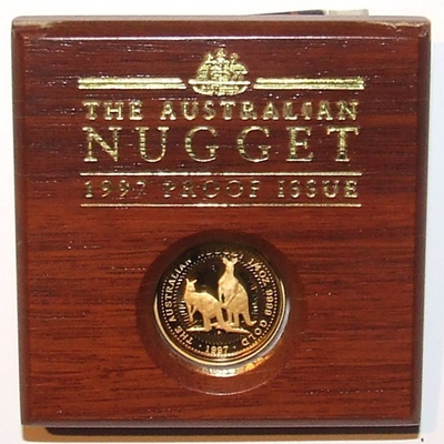 1997 Gold Proof 1/4oz NUGGET