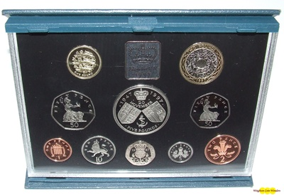 1997 Royal Mint Standard Proof Set