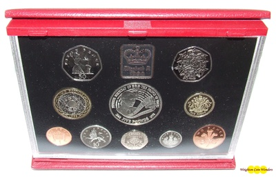 1998 Royal Mint Deluxe Proof Set