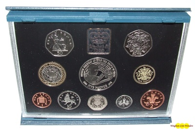 1998 Royal Mint Standard Proof Set