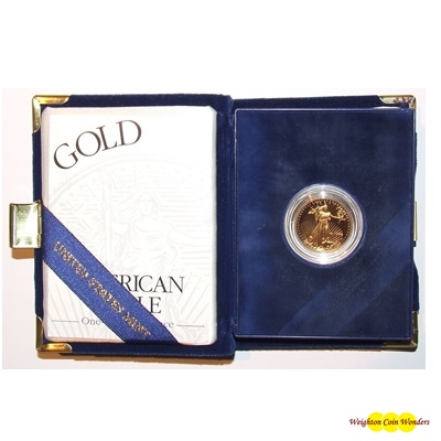 1998 Gold Proof 1/4oz EAGLE