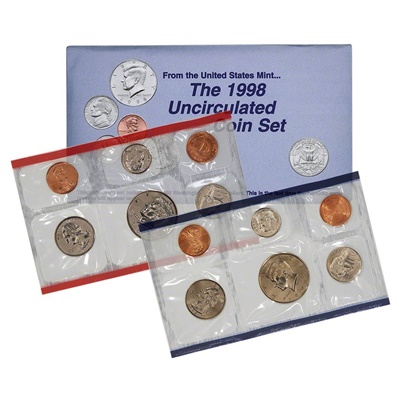 1998 United States Mint Uncirculated Coin Set (P & D)