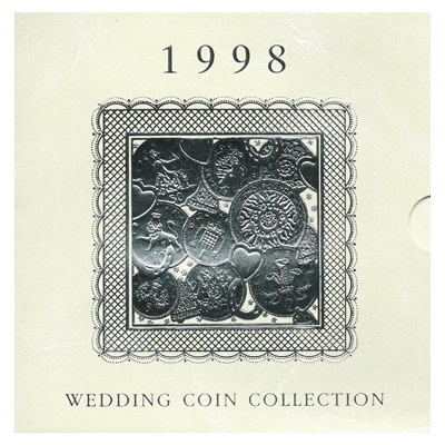 1998 Wedding BU Coin Collection
