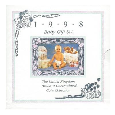 1998 Baby Gift Set - BU Coin Collection