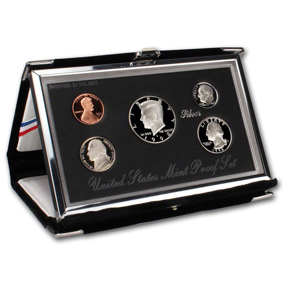 1998 United States Premier Silver Proof Set