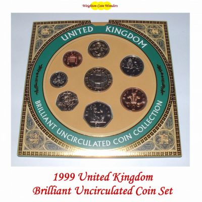 1999 Brilliant Uncirculated Coin Set