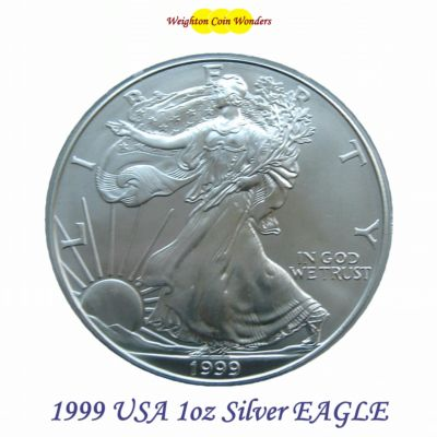 1999 USA 1oz Silver Eagle - BU