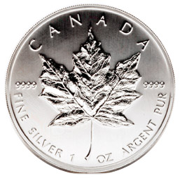 2008 1oz Silver Maple