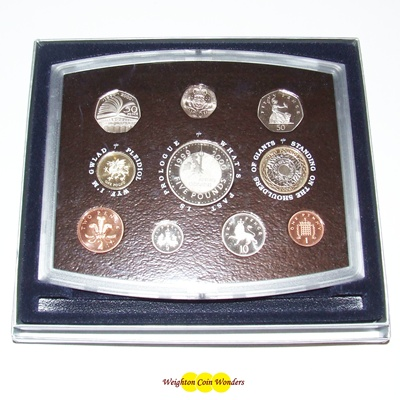 2000 Royal Mint Standard Proof Set