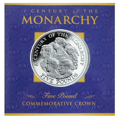 2000 £5 Commemorative Crown - A Century of the Monarchy