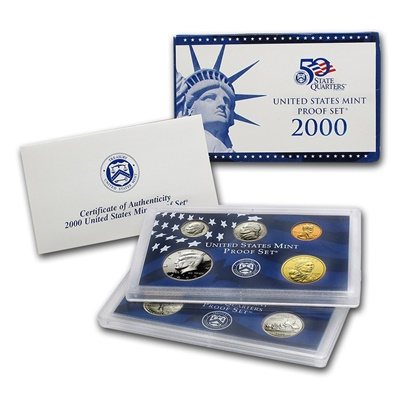 2000 United States Mint Proof Set