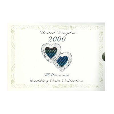 2000 Millennium Wedding BU Coin Collection
