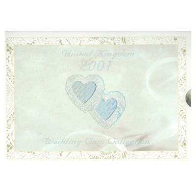 2001 Wedding BU Coin Collection