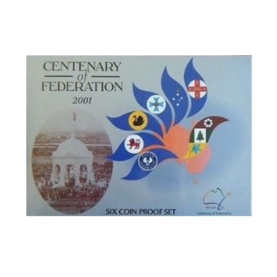 2001 Centenary of Federation - Six Coin Proof Set