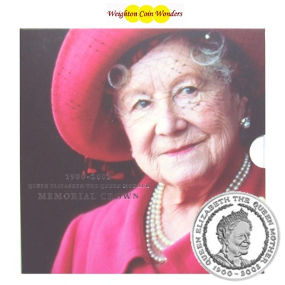 2002 BU £5 Crown Pack – Queen Mother Memorial