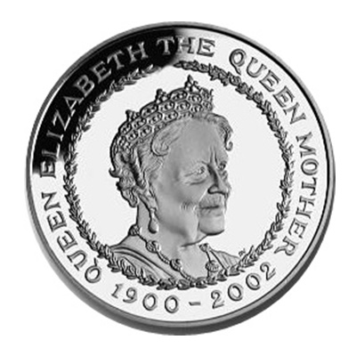 2002 £5 - Queen Mother Memorial