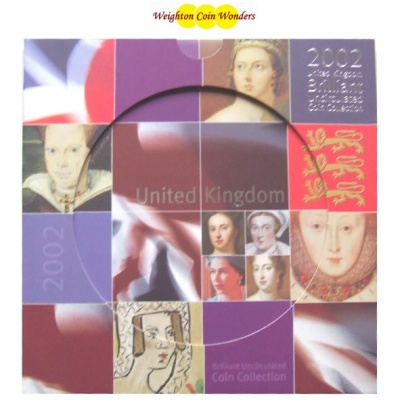 2002 Brilliant Uncirculated Coin Set