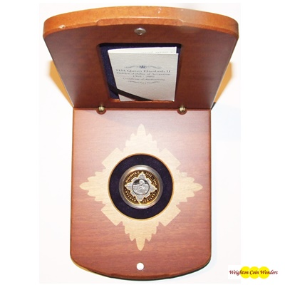2002 Gold/Silver Proof $20 - QEII Golden Jubilee