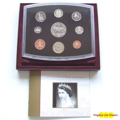 2002 Royal Mint Standard Proof Set