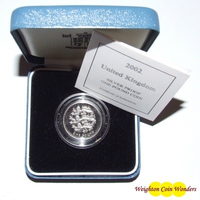 2002 Silver Proof £1