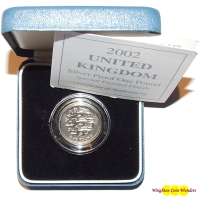 2002 Silver Reverse Proof £1