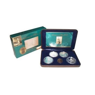 2002 Masterpieces in Silver Four Coin Collection