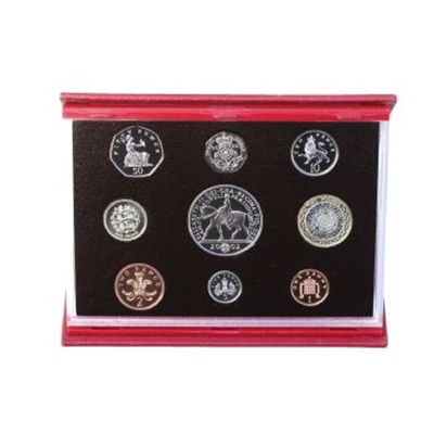 2002 Royal Mint Deluxe Proof Set
