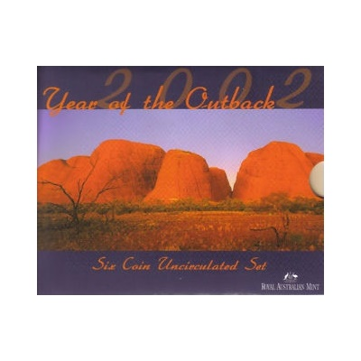 2002 Uncirculated Coin Set - Year of the Outback