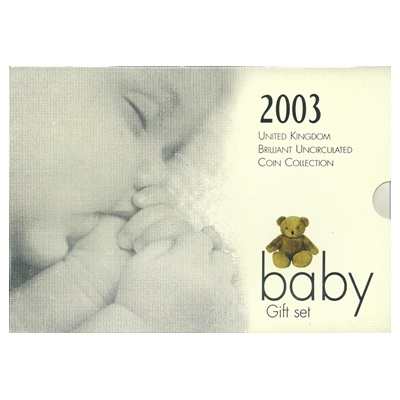 2003 Baby Gift Set - BU Coin Collection