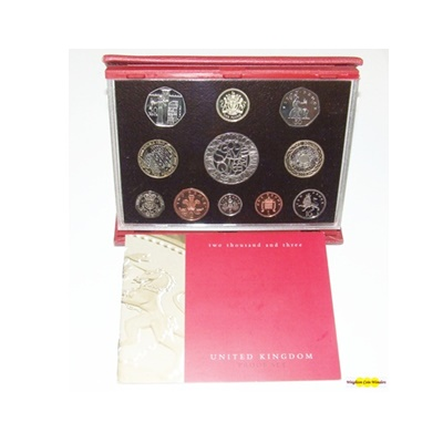 2003 Royal Mint Deluxe Proof Set