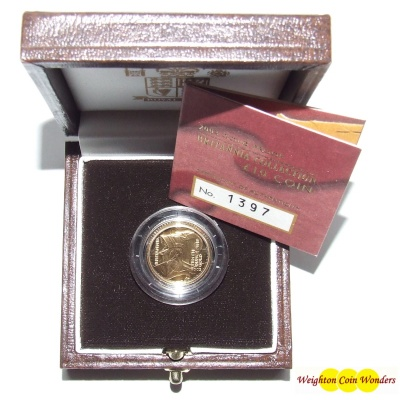 2003 Gold Proof 1/10th oz Britannia
