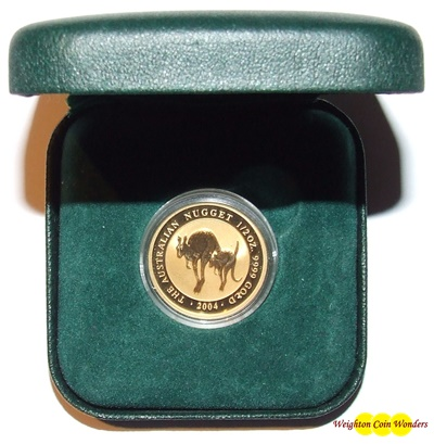 2004 Gold 1/2oz NUGGET (Kangaroo)
