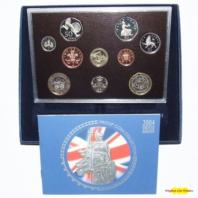 2004 Royal Mint Standard Proof Set