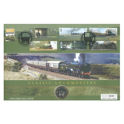 2004 BU £2 Coin - The Bicentenary of Steam