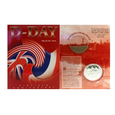 2004 $1 Proof Quality D-Day 60th Anniversary Coin
