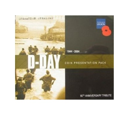 2004 BU £5 Crown Pack - 60th Anniversary - The D-Day Landings