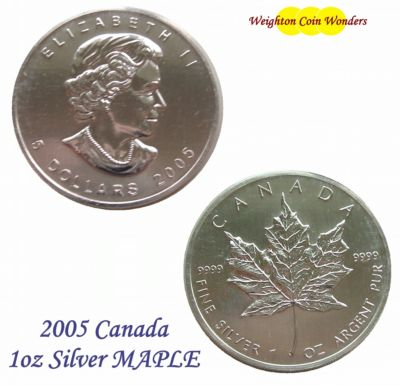 2005 1oz Silver Maple