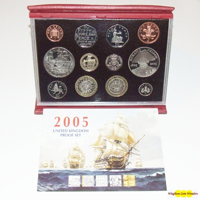 2005 Royal Mint Deluxe Proof Set